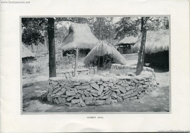 Souvenir Igorot Village Booklet S 5