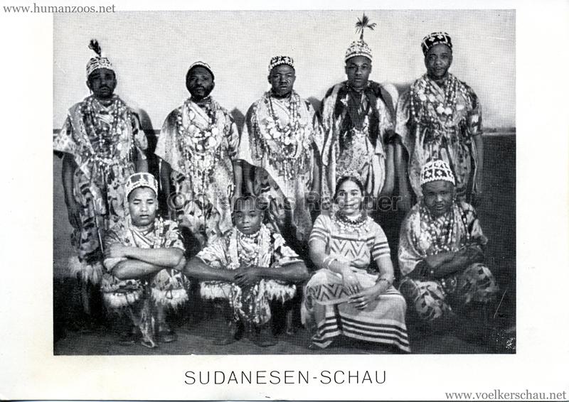 Sudanesen-Schau