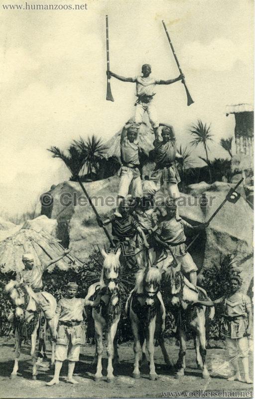 Sudanesen-Truppe, Carl Hagenbeck's Tierpark