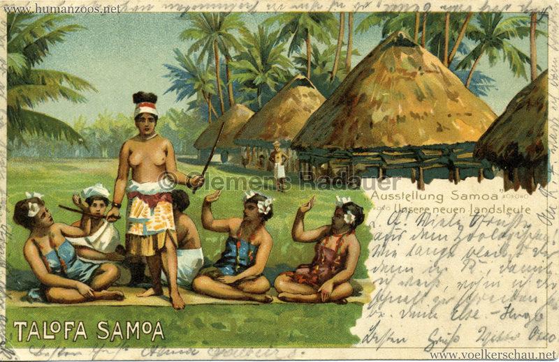 Talofa Samoa - Ausstellung Samoa - Unsere Neuen Landsleute 3