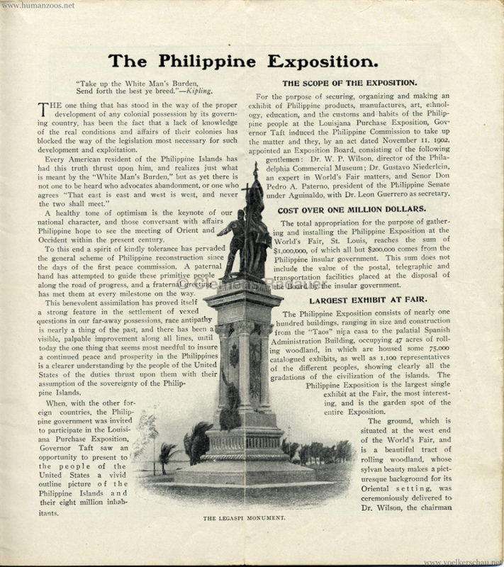The Philippine Exposition Booklet S 3