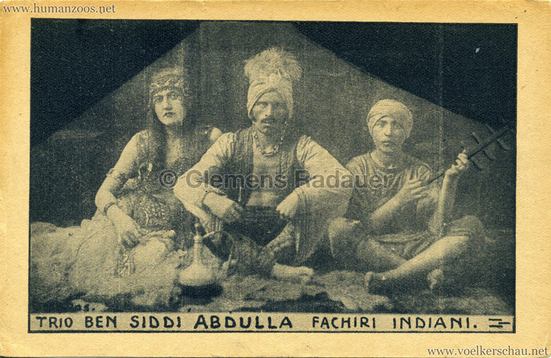 Trio Ben Siddi Abdulla - Fachiri Indiani