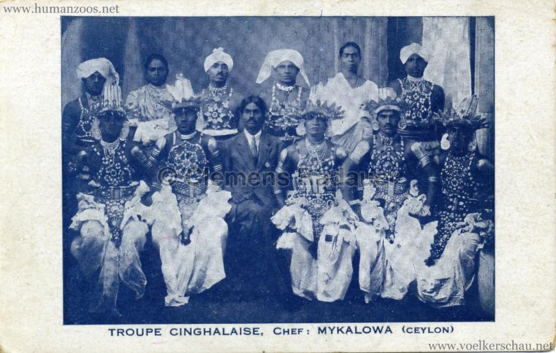 Troupe Cinghalaise, Chef Mykalowa - Ceylon