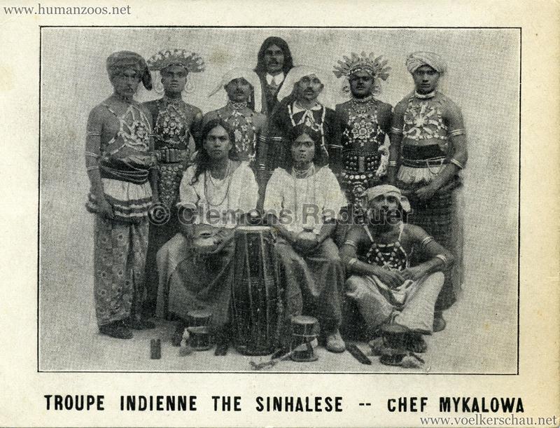 Troupe Indienne The Sinhalese - Chef Mykalowa 1