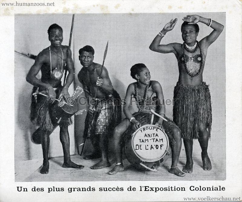Un de plus grands succès de l'Exposition Coloniale