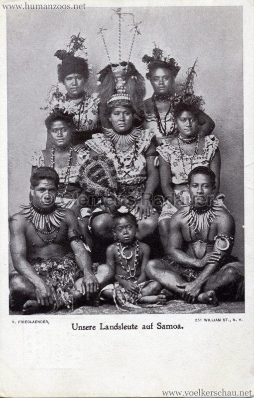 Unsere neuen Landsleute auf Samoa