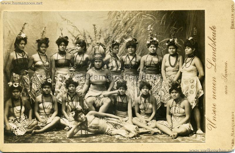 1901 Unsere neuen Landsleute aus Samoa, Berlin 1901