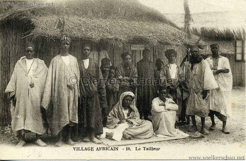 Village Africain - 10. Le Trailleur