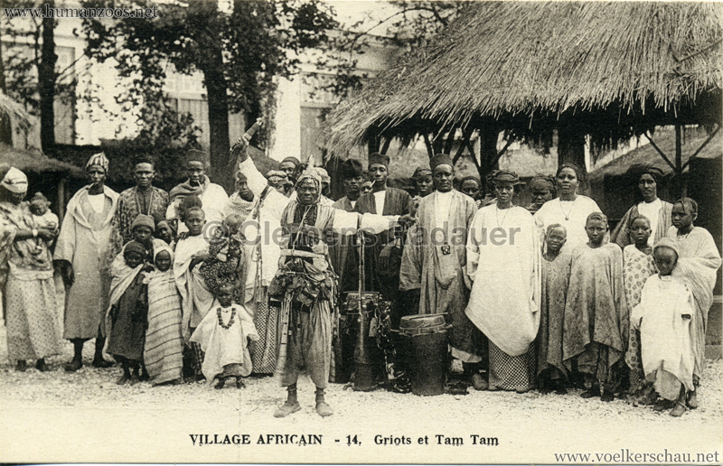 Village Africain - 14. Griots et Tam Tam