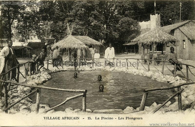 Village Africain - 15. La Piscine - Les Plongeurs