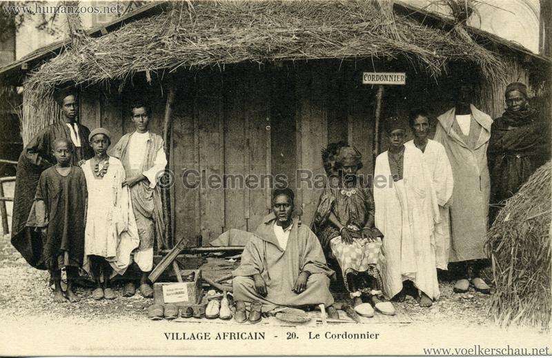 Village Africain - 20. Le Cordonnier