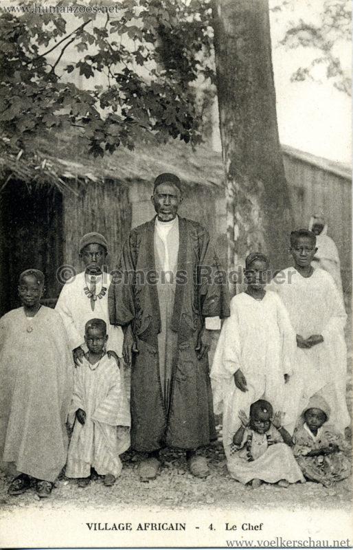Village Africain - 4. Le Chef