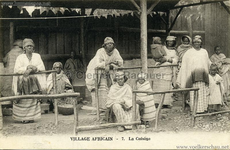 Village Africain - 7. La Cuisine