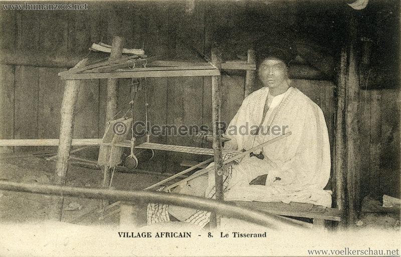Village Africain - 8. Le Tisserand