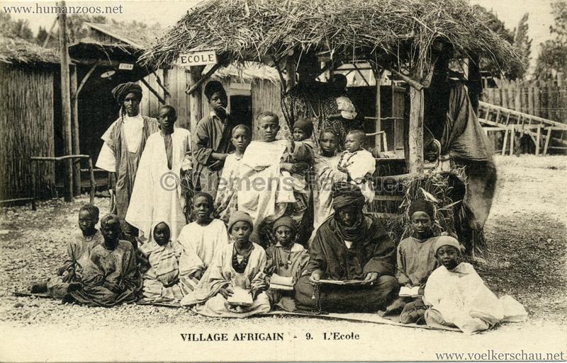 Village Africain - 9. L'Ecole