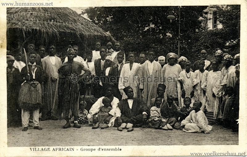 Village Africain - Groupe d'ensemble