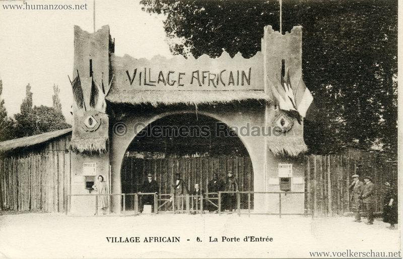 Village Africain - 6. La porte d'entree