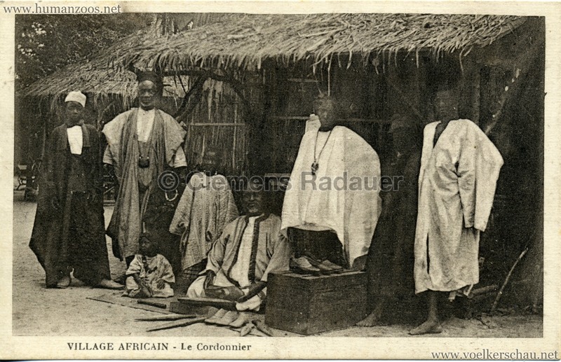 Village Africain - Le Cordonnier