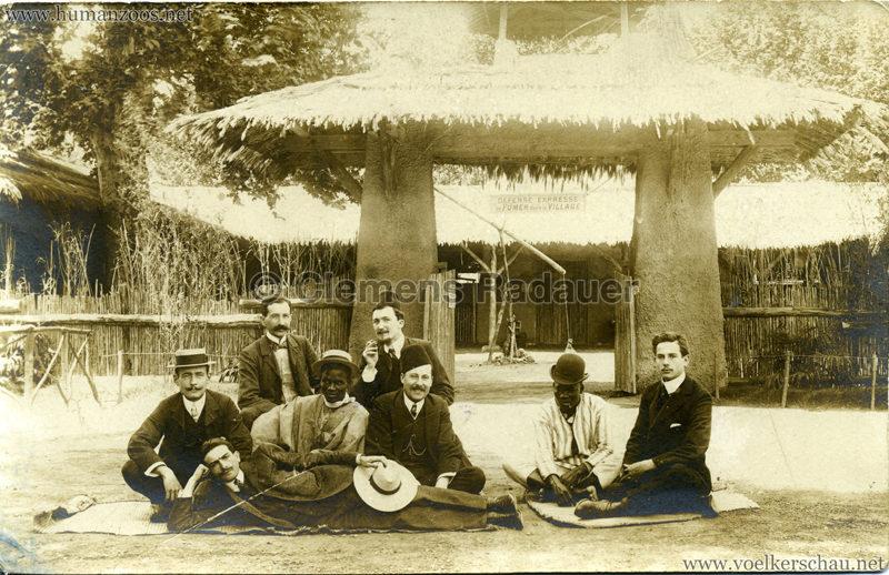 1906 Expo Coloniale Marseille Ferme Soudanais