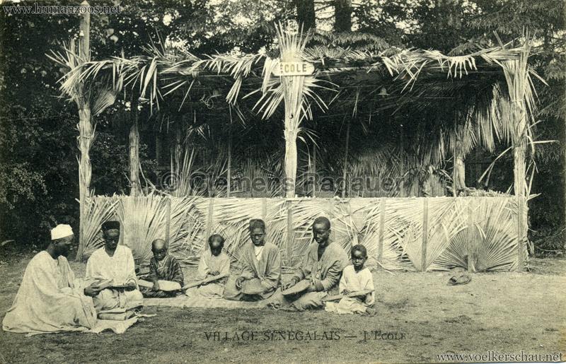 Village Sénégalais - L'Ecole