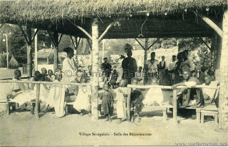 Village Sénégalais - Salle des Réjouissances