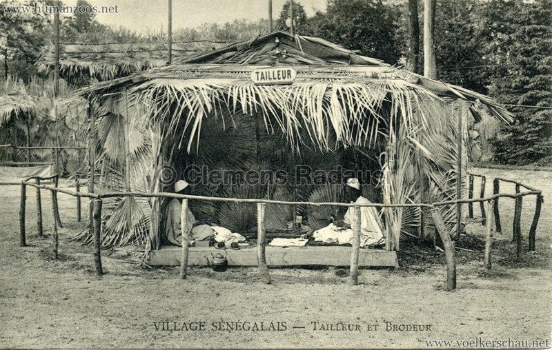 Village Sénégalais - Tailleur et Brodeur