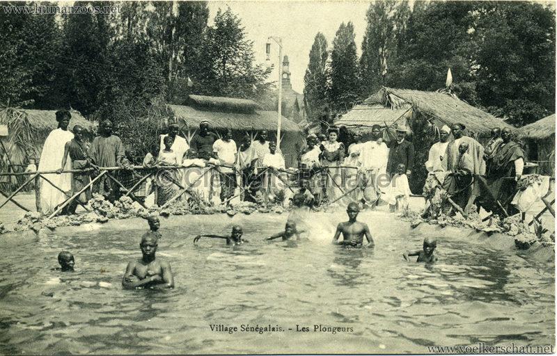 Village Sénégalais. - Les Plongeurs