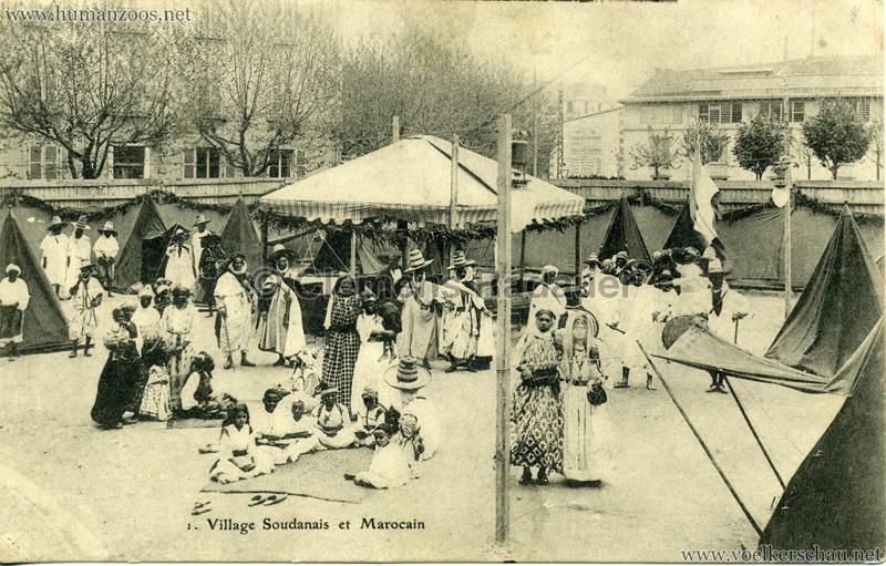 Village Soudanais et Marocain