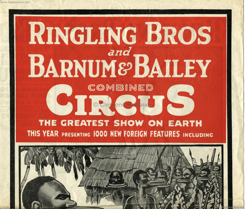 1931/1932 Ubangi Savages Booklet 2 1