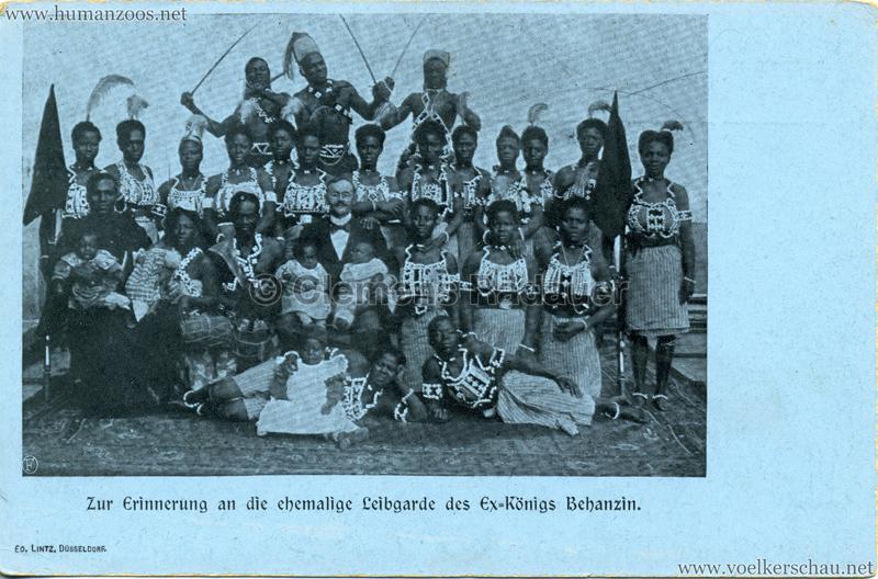 Zur Erinnerung an die ehemalige Leibgarde des Ex-Königs Behanzin