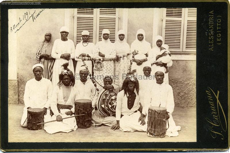 1891 Suaheli-Carawane