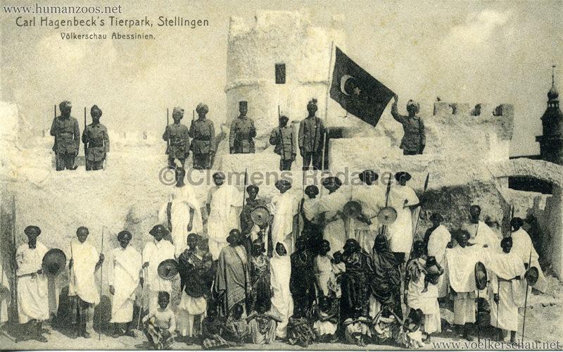 1913 Völkerschau Abessinien 4501