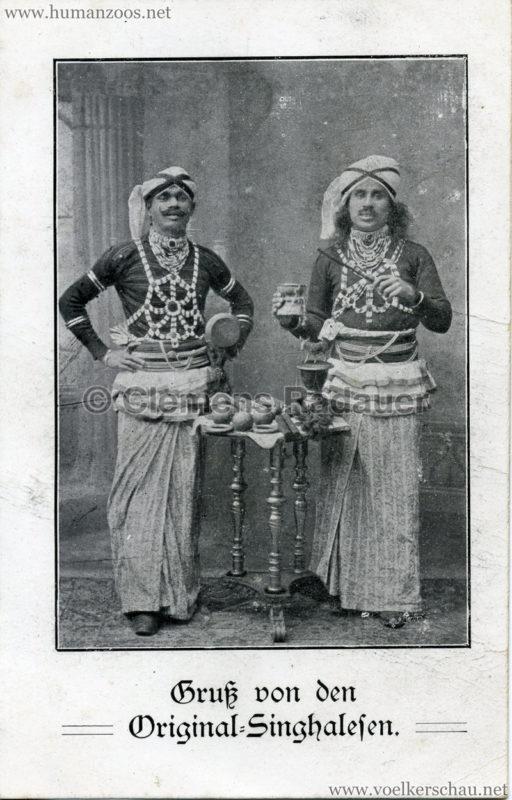 Gruß von den Original-Singhalesen VS