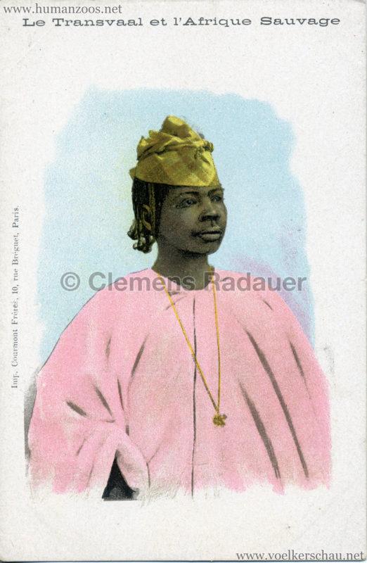1900 Le Transvaal et l'Afrique Sauvage - Frau 1