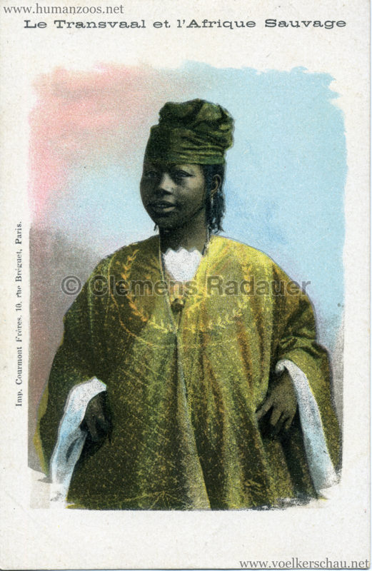 1900 Le Transvaal et l'Afrique Sauvage - Frau 2