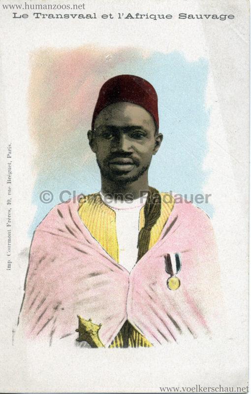 1900 Le Transvaal et l'Afrique Sauvage - Mann 1