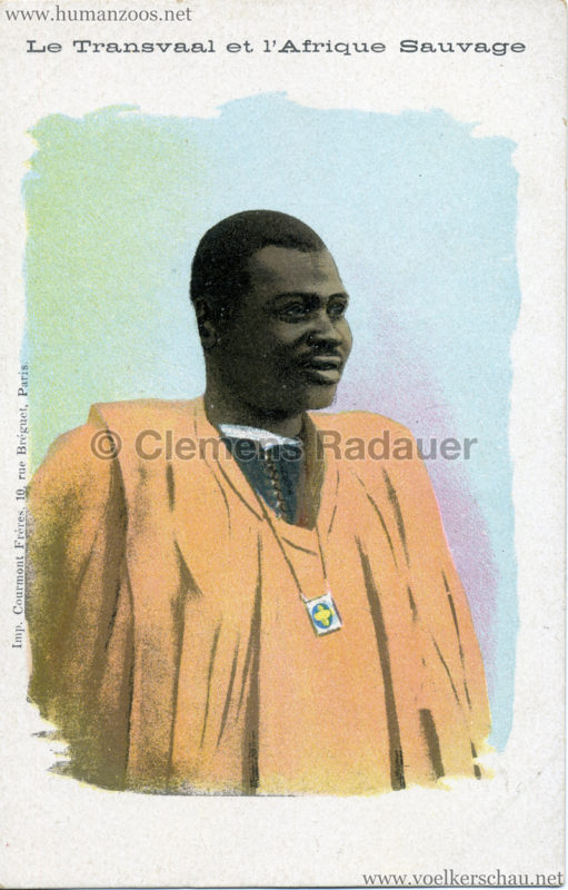 1900 Le Transvaal et l'Afrique Sauvage - Mann 2