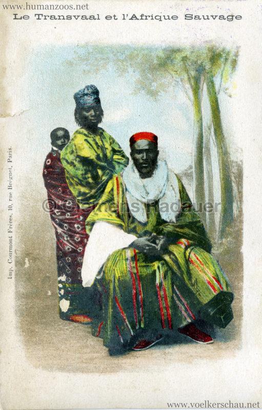 1900 Le Transvaal et l'Afrique Sauvage - Mann und Frau