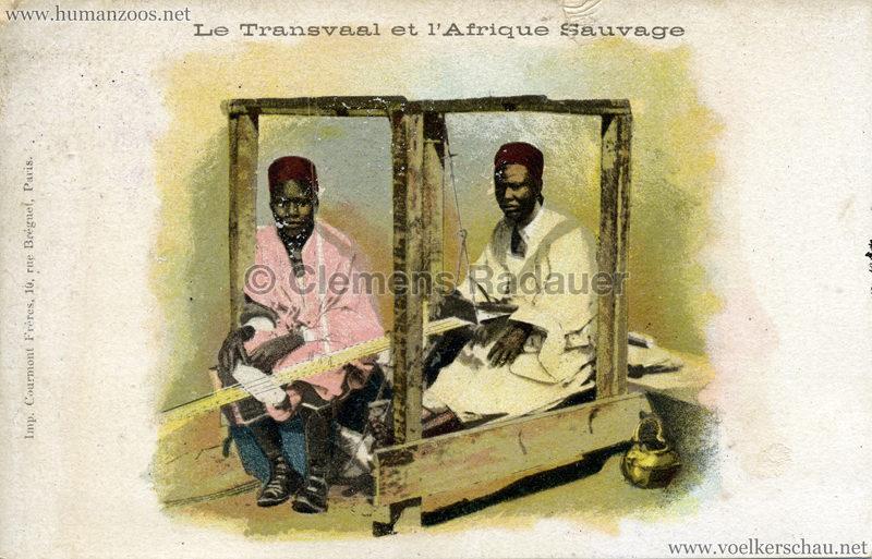 1900 Le Transvaal et l'Afrique Sauvage -