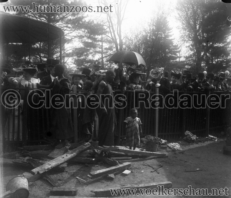 1903 les achantis jardin d acclimatation human zoos - Le jardin d acclimatation ...