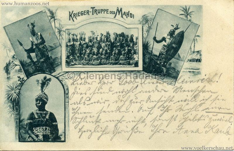 1898 Krieger-Truppe des Mahdi