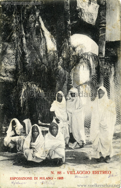 1906 Esposizione - Villaggio Eritreo 88
