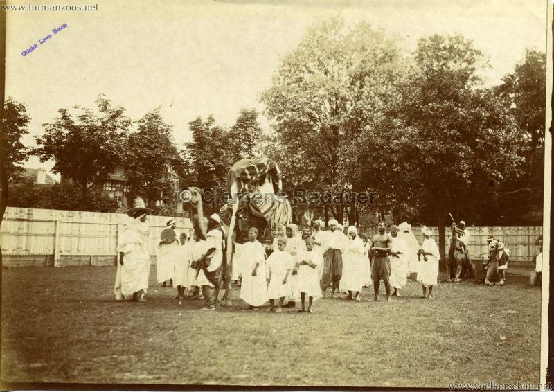 1907 Exposition Coloniale Paris, Bois de Vincennes - FOTO - Campement saharienne