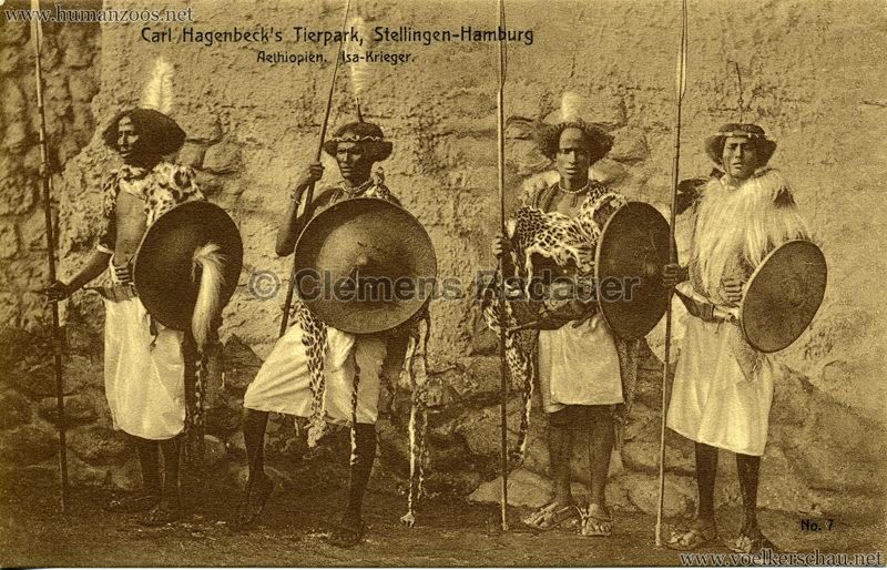 1909 Hagenbeck Aethiopien - 7. Isa-Krieger 1