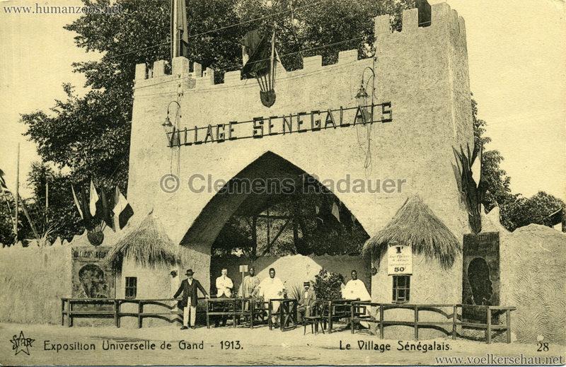 1913 Exposition de Gand - Village Sénégalais 28