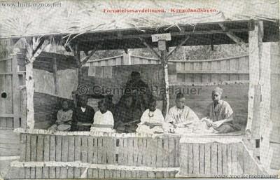 1914 Norges Jubilaeumsutstilling - Fornoielsesavdelingen Kongolandsbyen 1