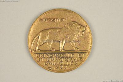 1935 Exposition de Bruxelles - Congo COIN RS