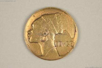 1935 Exposition de Bruxelles - Congo COIN VS