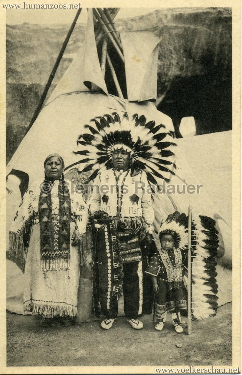 1935 Exposition de Bruxelles - Sioux Peaux Rouges 1