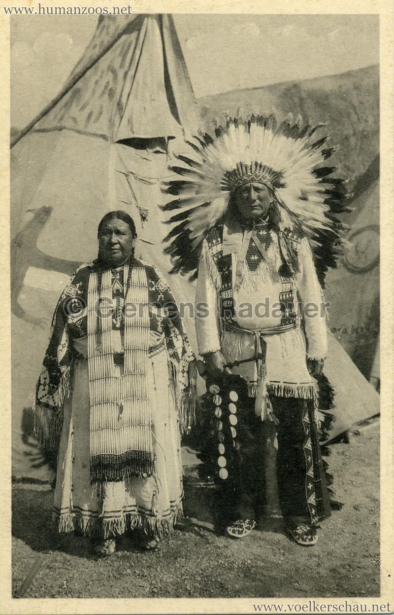 1935 Exposition de Bruxelles - Sioux Peaux Rouges 2 VS